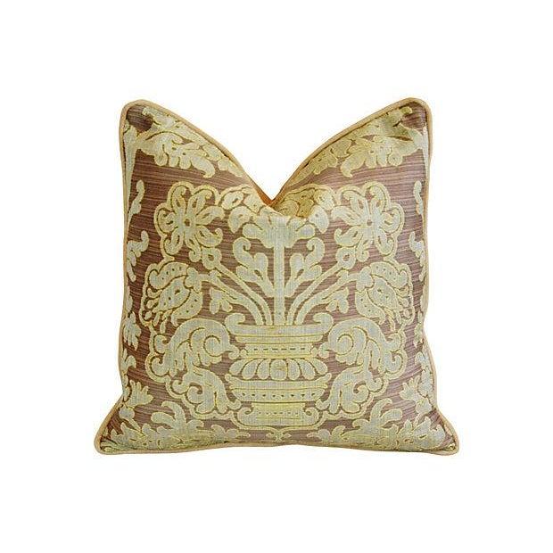 Custom French Pierre Frey Fadini Borghi Pillow - Image 2 of 5