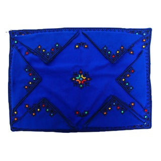 FEZ Needlepoint Tray Linen & Napkins - Set of 7