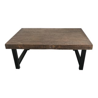 Pottery Barn Griffin Coffee Table