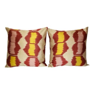 Fabric Ikat Pillow 037