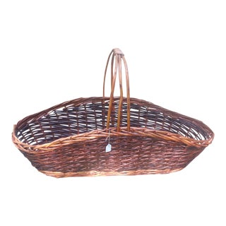 Large Brown Wicker Basket