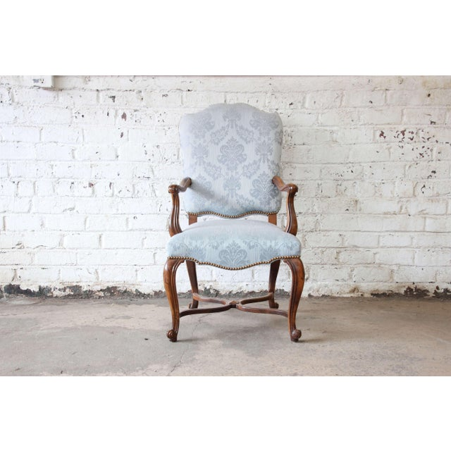 French Provincial Dining Chairs by Baker Furniture - Set of 12 - Image 3 of 11