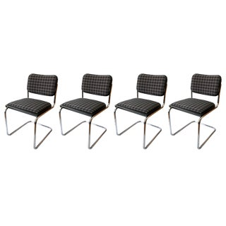 Marcel Breuer for Knoll Cesca Chairs - Set of 4