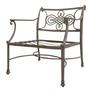 Woodard Landgrave Cast Classics Aluminum Patio Lounge Chair