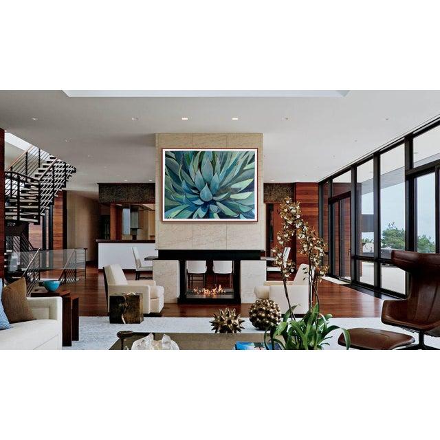 Agave Americana Acrylic Painting - Image 5 of 10