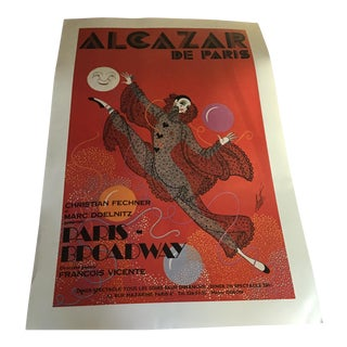 French Advertisement Poster