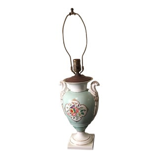 Royal Ermine Porcelain Lamp