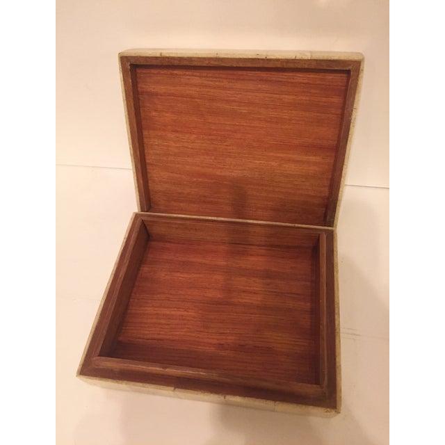 Tessellated Stone Maitland Smith Style Box - Image 4 of 4