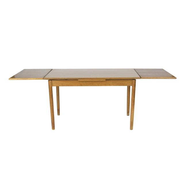 Vintage 1960s Danish Extendable Dining Table - Image 2 of 3