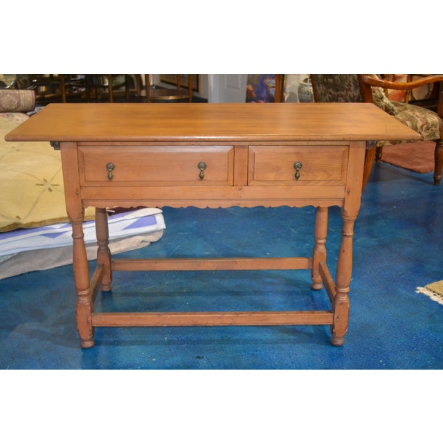 Vintage Country Console Table - Image 2 of 4
