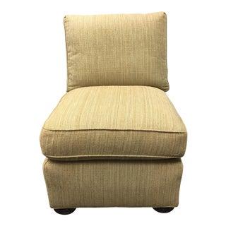 Hickory White Slipper Chair
