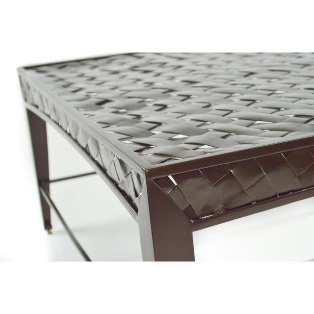 Woven Metal Coffee Table by Dakota Jackson - Image 6 of 6