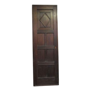 Carved Walnut Door