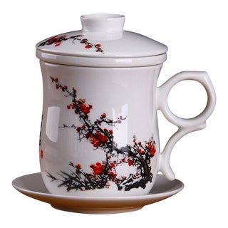 Chinese Style Porcelain Brewing Tea Cup