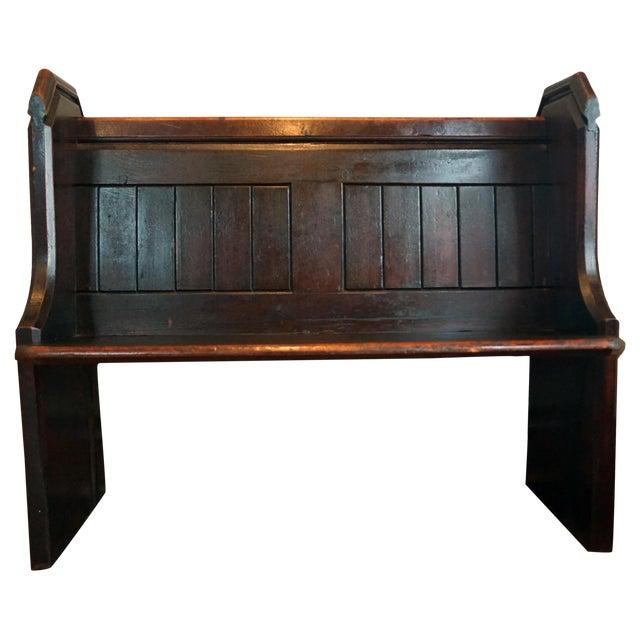 Victorian Church Pew Bench Chairish
