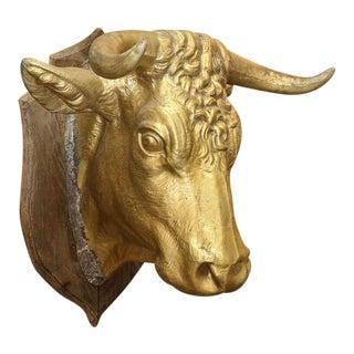 Large Tete de Vache Wall-Mounted Sculpture
