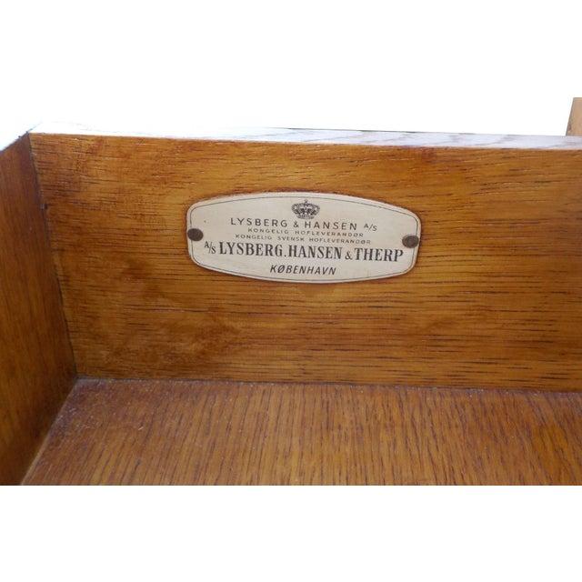 Lysberg Hansen & Therp Wood Minimalist Desk - Image 3 of 9