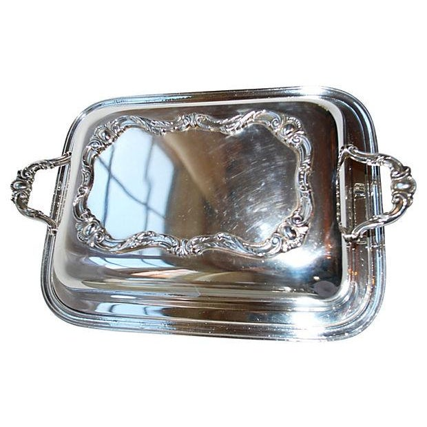 Rochelle Silver Covered Serving Dishes - A Pair - Image 3 of 5