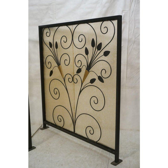 French Art Deco Room Dividers - A Pair - Image 3 of 6