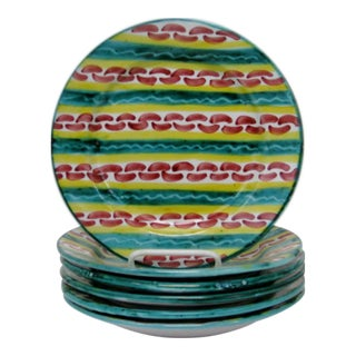Italian Salad Plates - Set of 6