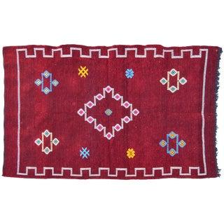 Moroccan Silk Rug - 5'1'' x 3'