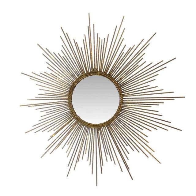 Gold Sun Burst Mirror - Image 1 of 6