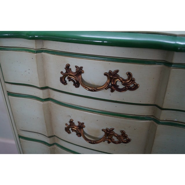 Permacraft Painted & Upholstered Chests - A Pair - Image 9 of 10