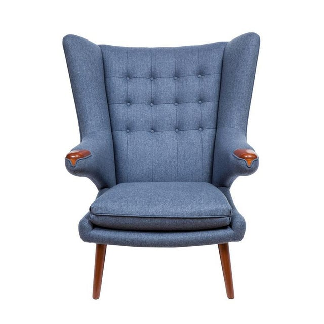 Pavel Wingback Armchair - Image 2 of 6