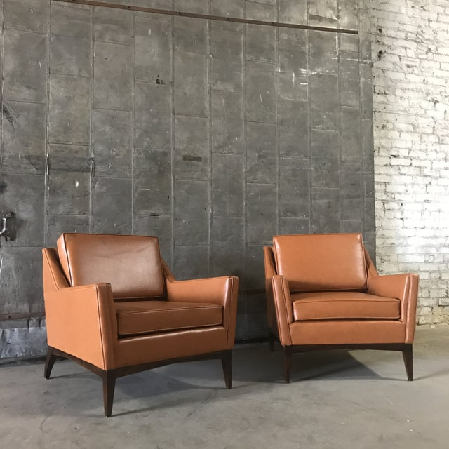 Mid-Century Modern Lounge Chairs - A Pair - Image 5 of 9