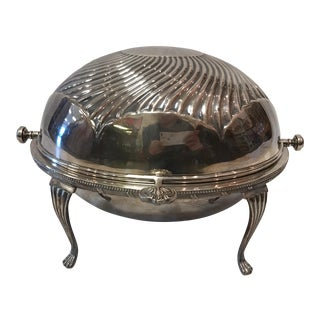 Vintage Silver Plated Serving Dish