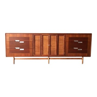 American of Martinsville Refinished Walnut Dresser