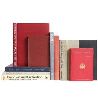 Vintage Jewish Art & History Books - Set of 9