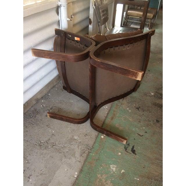 Westnofa Siesta Leather Amp Rosewood Chair Chairish