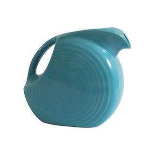 Turquoise Fiestaware Pitcher