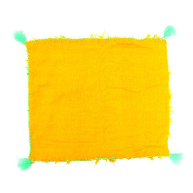 Yellow Moroccan Wedding Pillow Case - Image 2 of 2