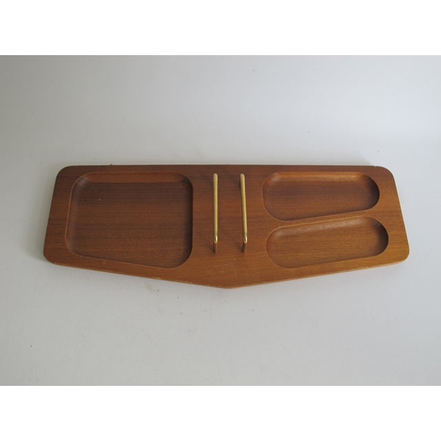 Handcrafted Mission Desk Tray - Image 2 of 7