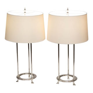Visual Comfort Thomas Obrien Jayson Table Lamps - A Pair