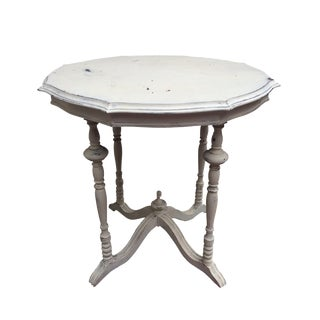 Shabby Chic Chalk Paint Side Table