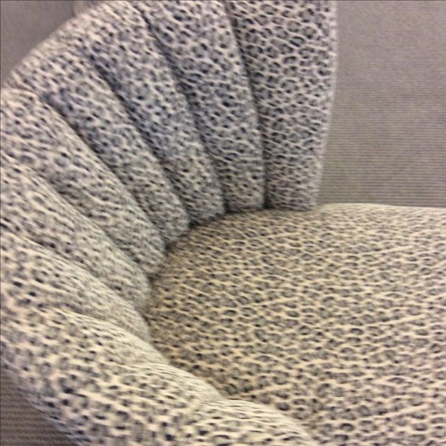 Leopard Print Chaise Lounge | Chairish