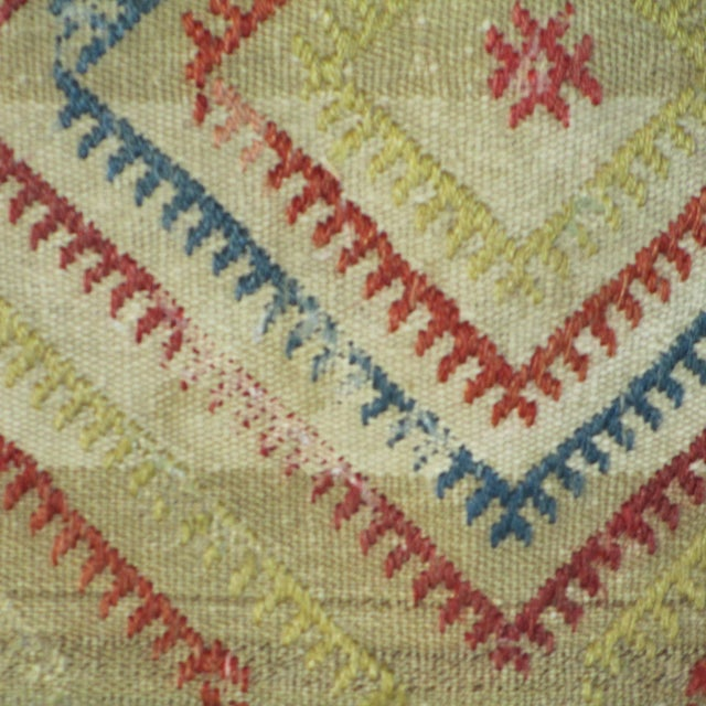 Vintage 1960s Turkish Kilim Pillow Cover - Image 2 of 4