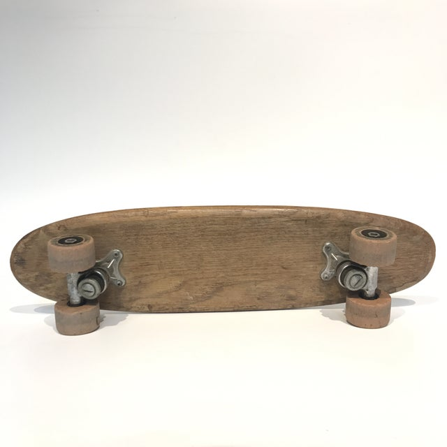 Vintage 1970's Wooden Skateboard - Image 4 of 6