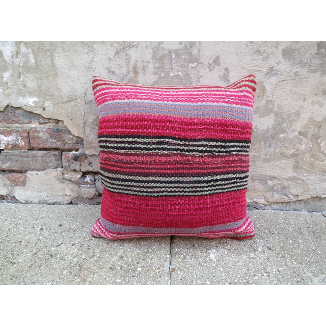 Peruvian Frazada Pillow - Image 2 of 3