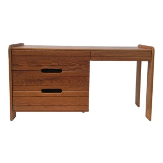Mid-Century Lou Hodges Californian Craftsman Desk