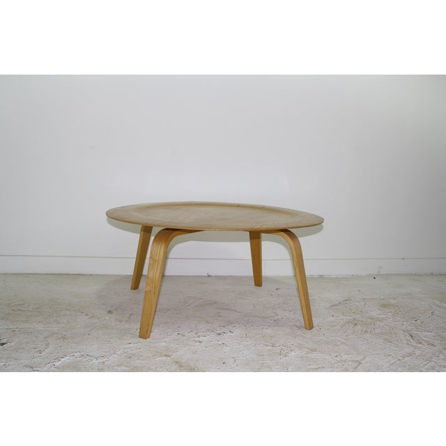 Eames Molded Blonde Plywood Coffee Table 8 Avail Chairish