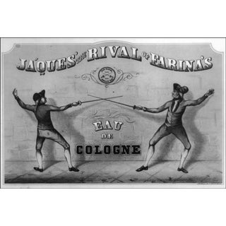 1800s Ja'Ques' the Rival of Farina's Ad Print