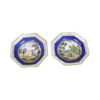 18th Century Sevres Porcelain Bowls - Pair