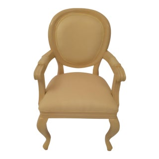 Bone White Armchair