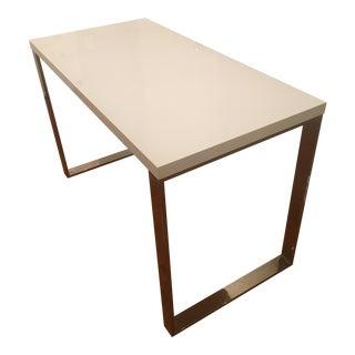 Eurostyle White Lacquer Dillon Desk