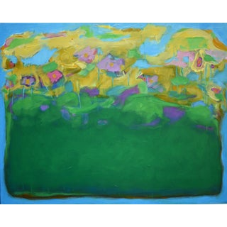 "Stephen Remick ""Garden Party, Rise"" Abstract Painting"
