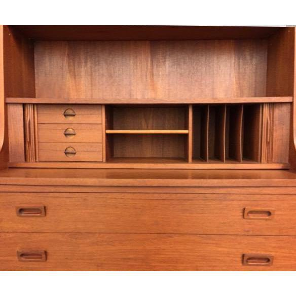 Danish Modern Secretary Bookcase - Image 6 of 6